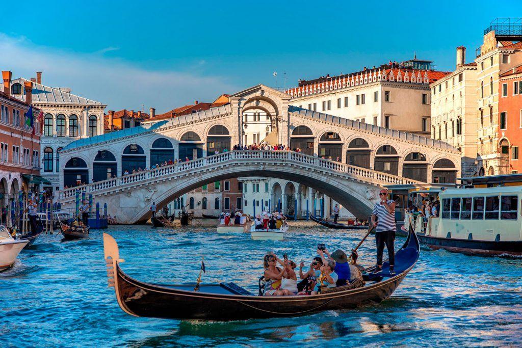 Vacaciones Familiares en Venecia