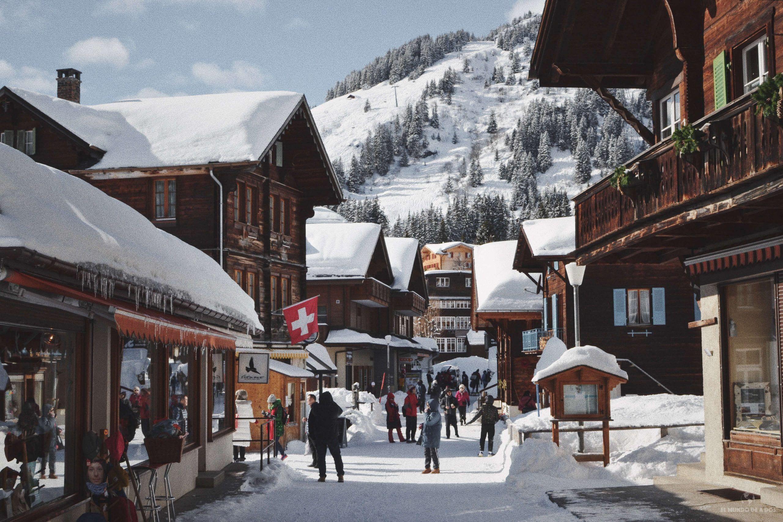 Vacaciones Familiares en Suiza