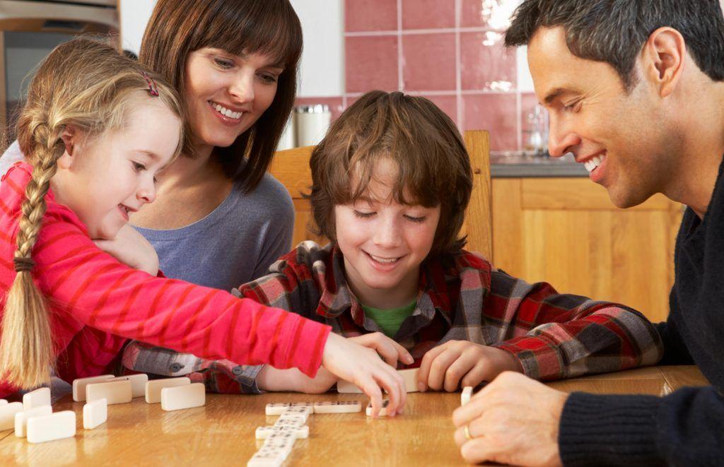 domino con los niños