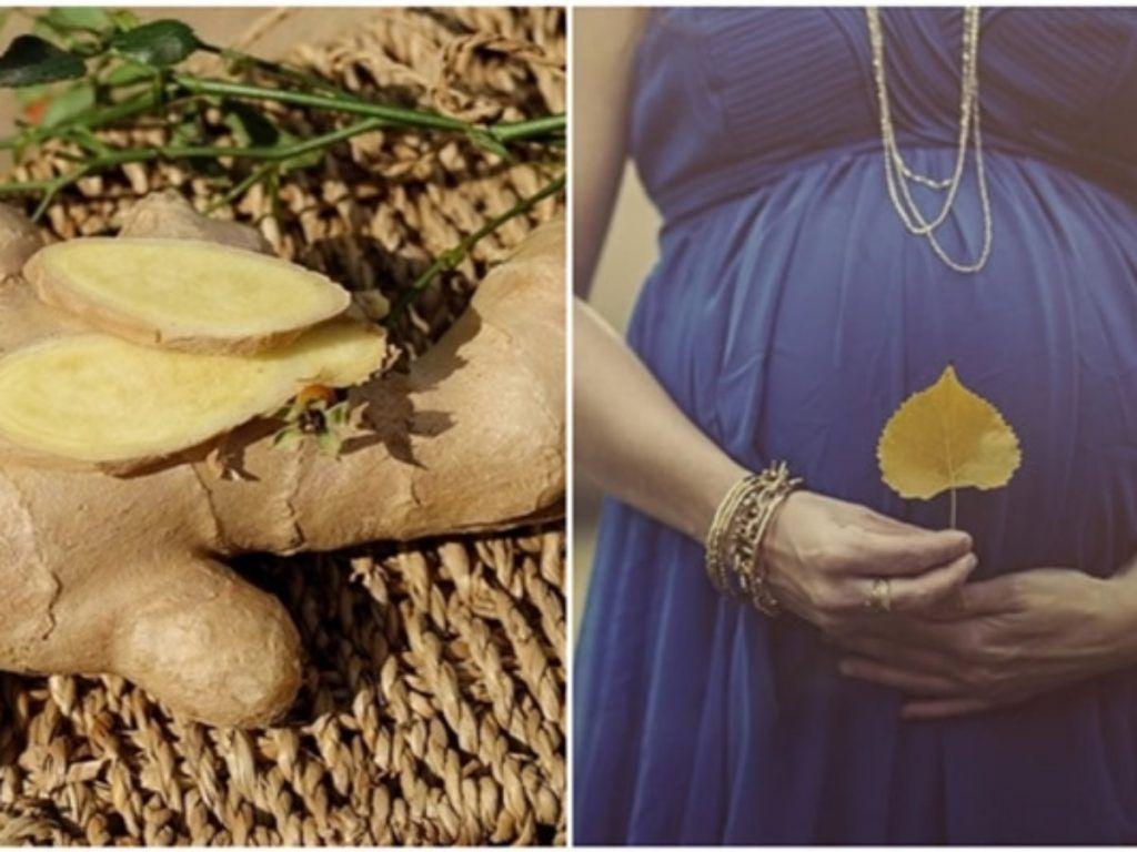 jenjibre en el embarazo