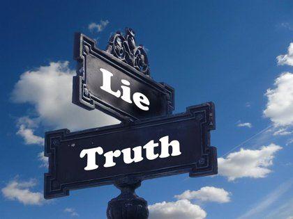 mentira definicion