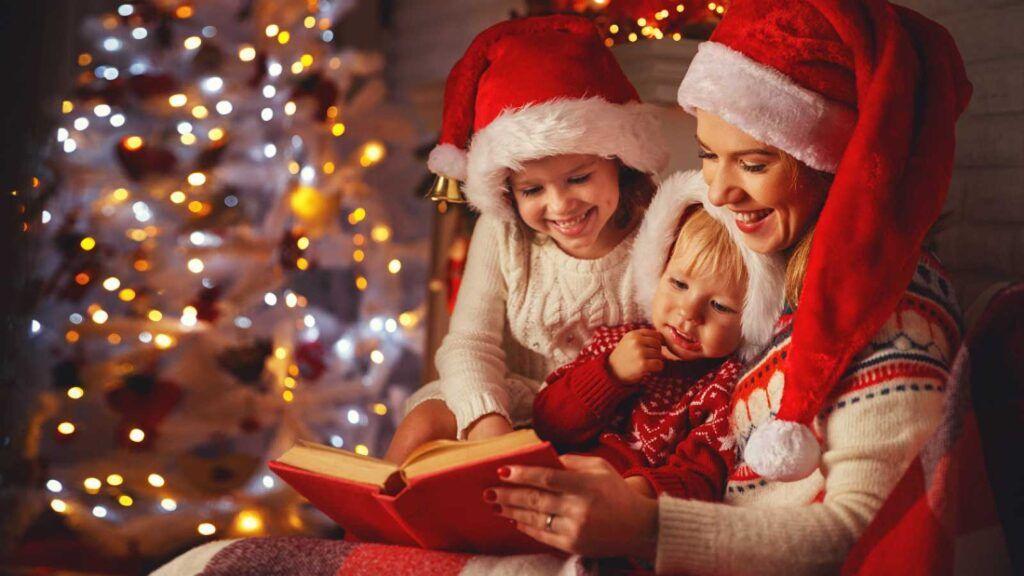 foto familiar navideña